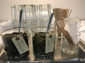Kaffe & te er altid inkluderet i prisen hos os