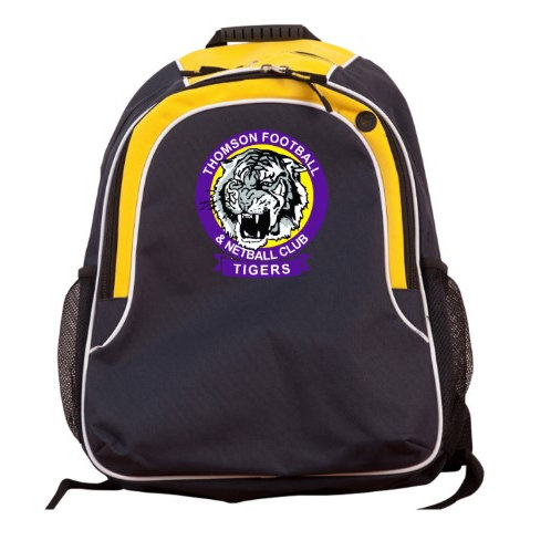Backpack with Club Logo