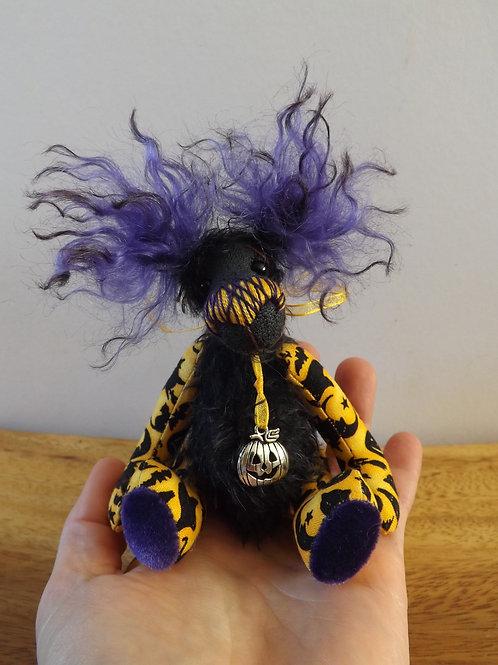 'Sweeney' Mini Halloween Bear