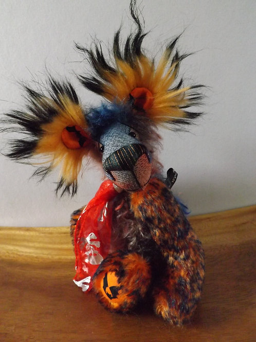 Halloween Bear 'Batz'