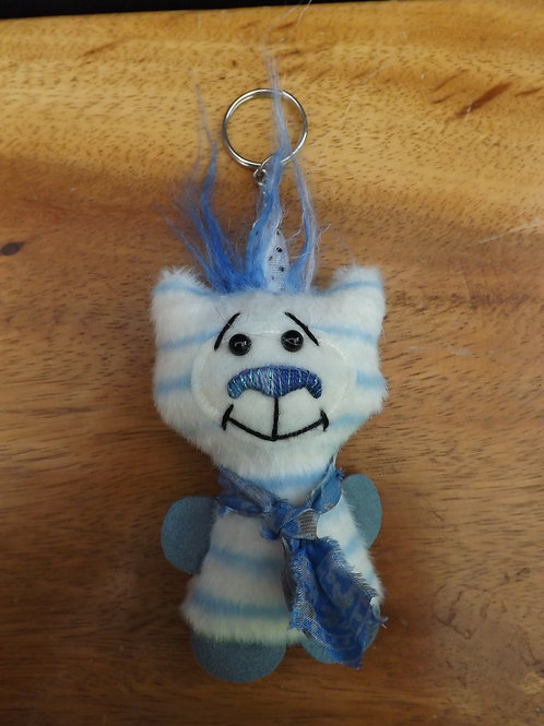 Quirky Bear Keyring No1