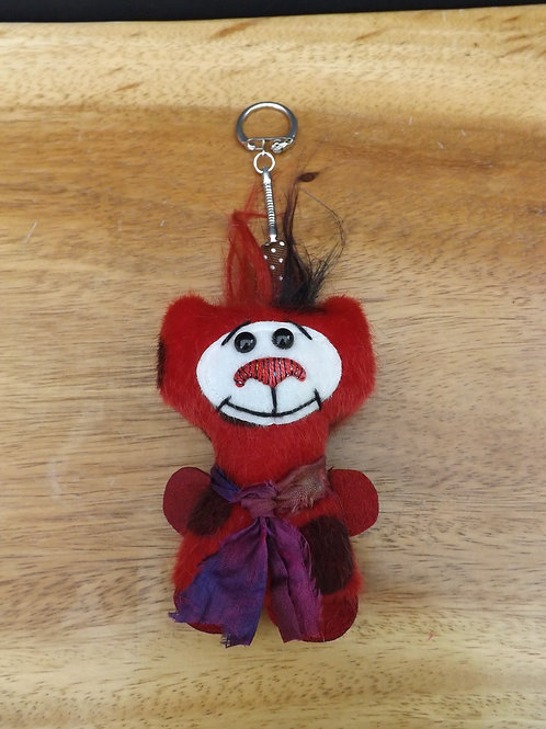 Quirky Bear Keyring No2
