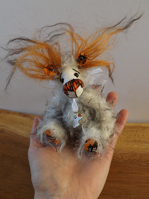 'Ghostie' Mini Halloween Bear