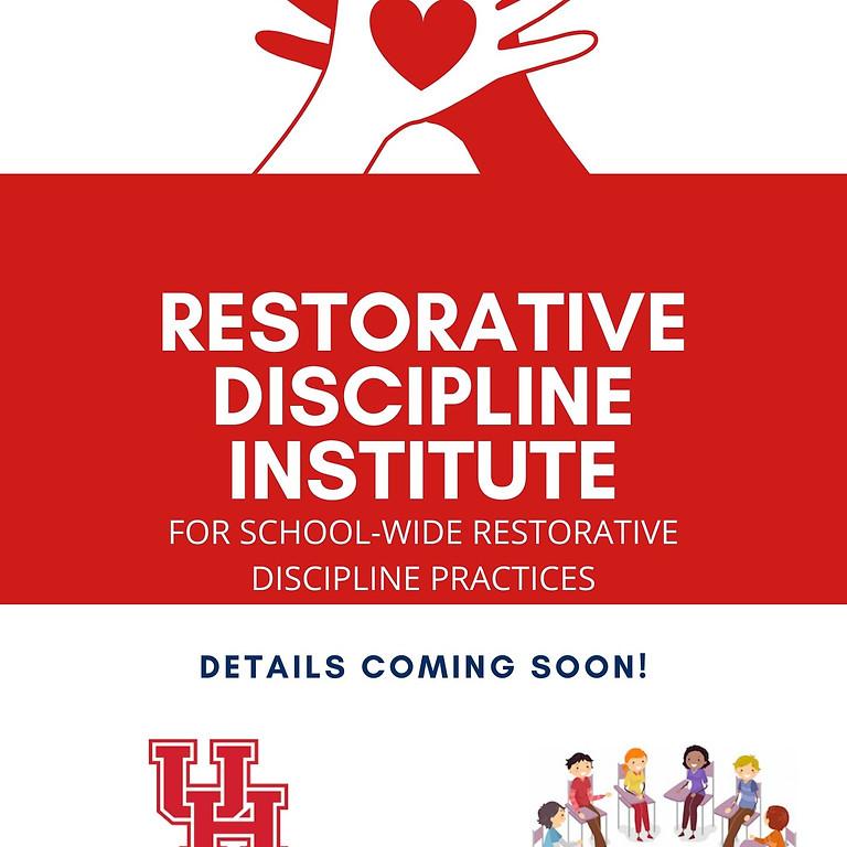 UH Restorative Discipline Institute