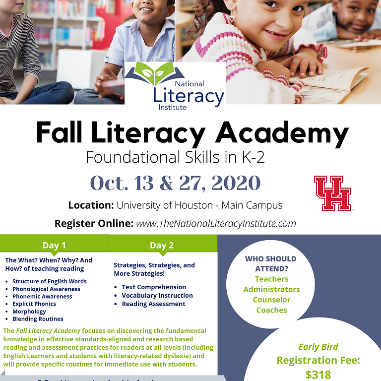 UH Fall Literacy Academy