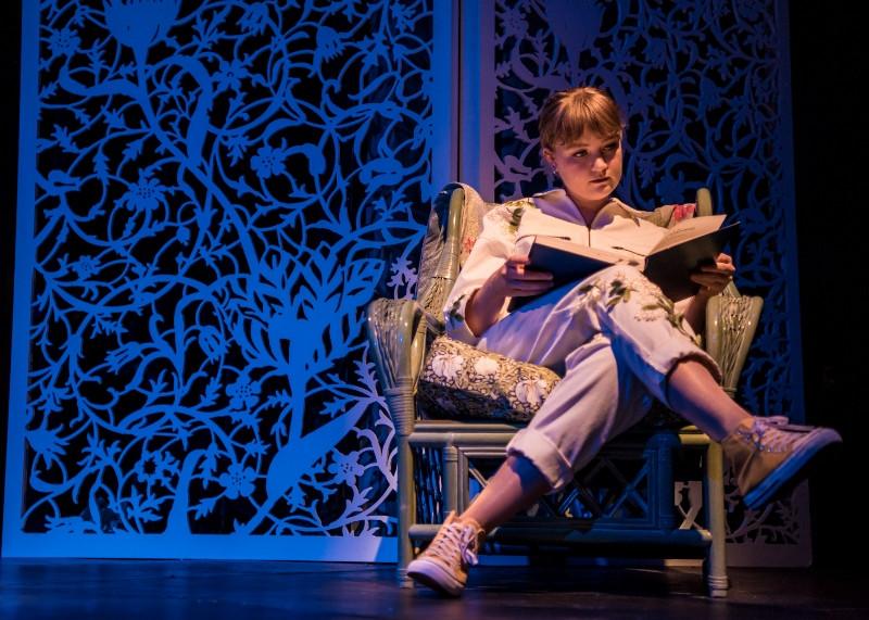 Nikki Martin as Cendrillon in Cendrillon at Buxton International Festival. Credit Genevieve Girling