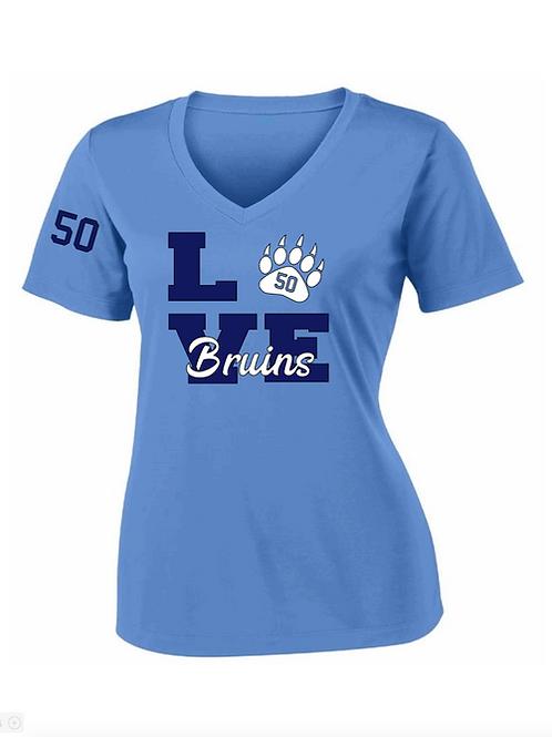 Bruins LOVE Performance t-shirt