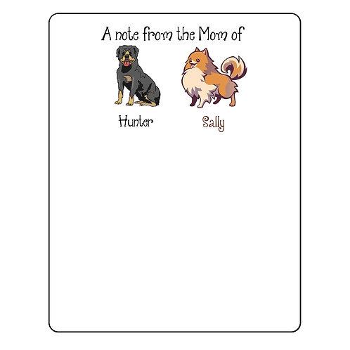 Pet notepad