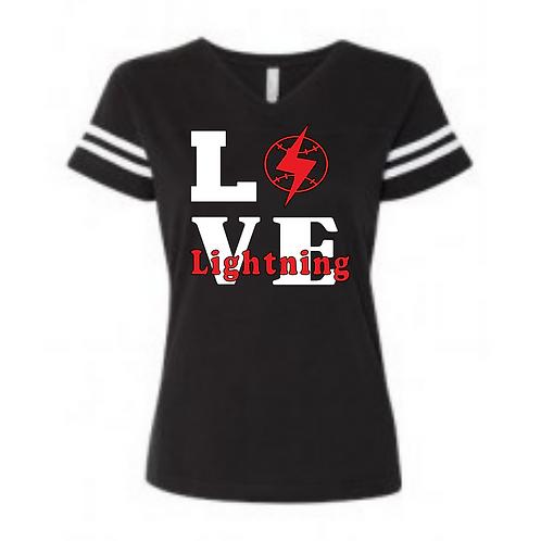 Lightning LOVE Black shirt