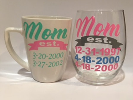 Mother's Day Drinkware