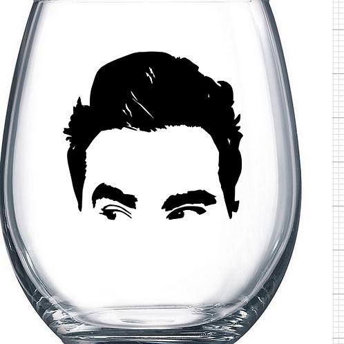 Schitt's Creek Wine Glass