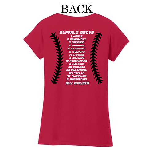 16U Bruins Mom's V-neck T-shirt