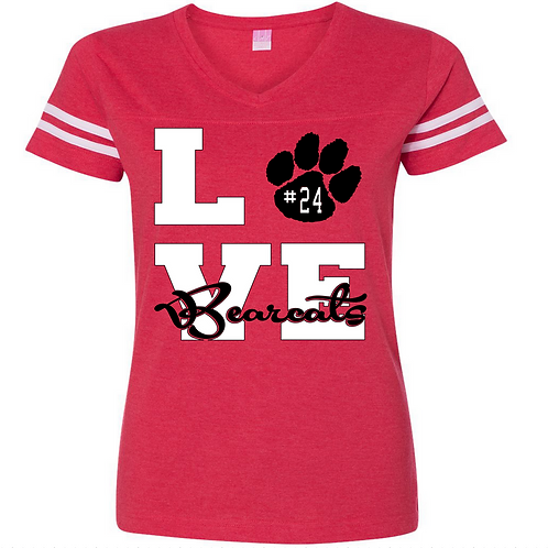 Bearcat LOVE Red shirt
