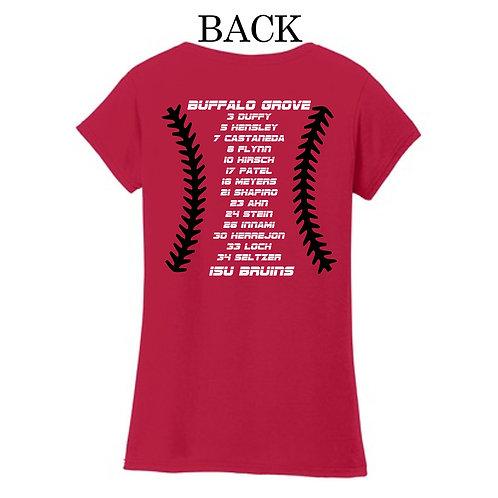 15U Bruins Mom's V-neck T-shirt