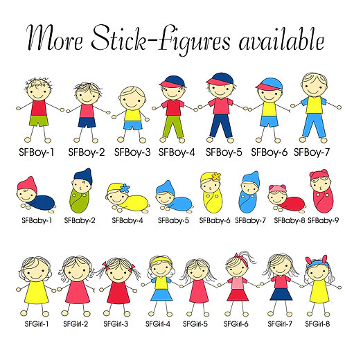 Pick the Stick Figure that fits your needs!