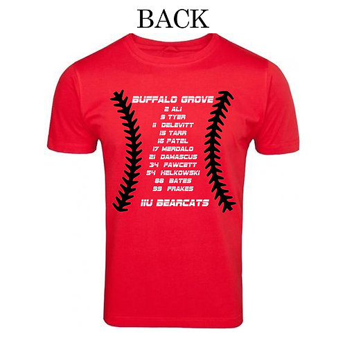 Bearcats 11U Black Roster Shirt