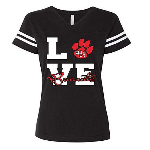 Bearcat LOVE Black shirt