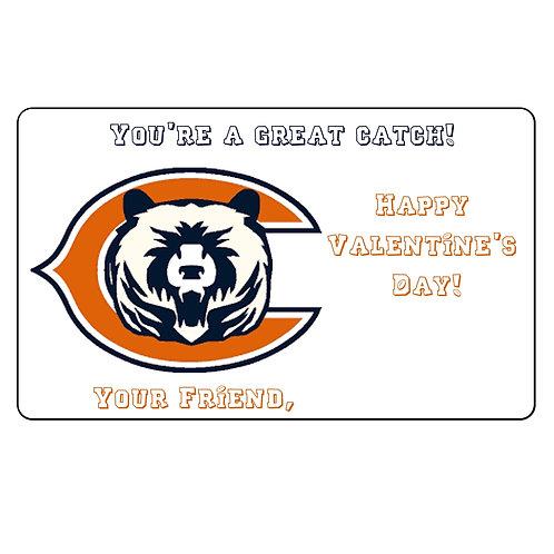 Chicago Bears Valentine
