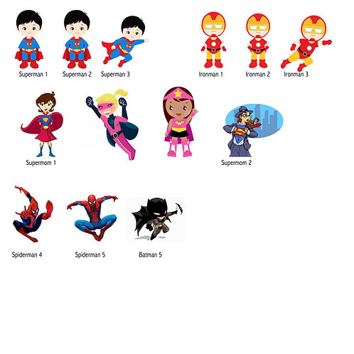 And still more Superheros!