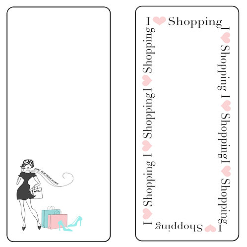 Shopping notepad