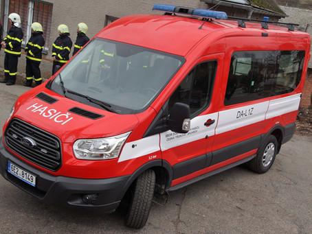 Kraj pomohl od roku 2016 dobrovolným hasičům s pořízením 167 dopravních automobilů