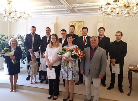 Slavnostní vyřazení absolventů SOUO Králíky