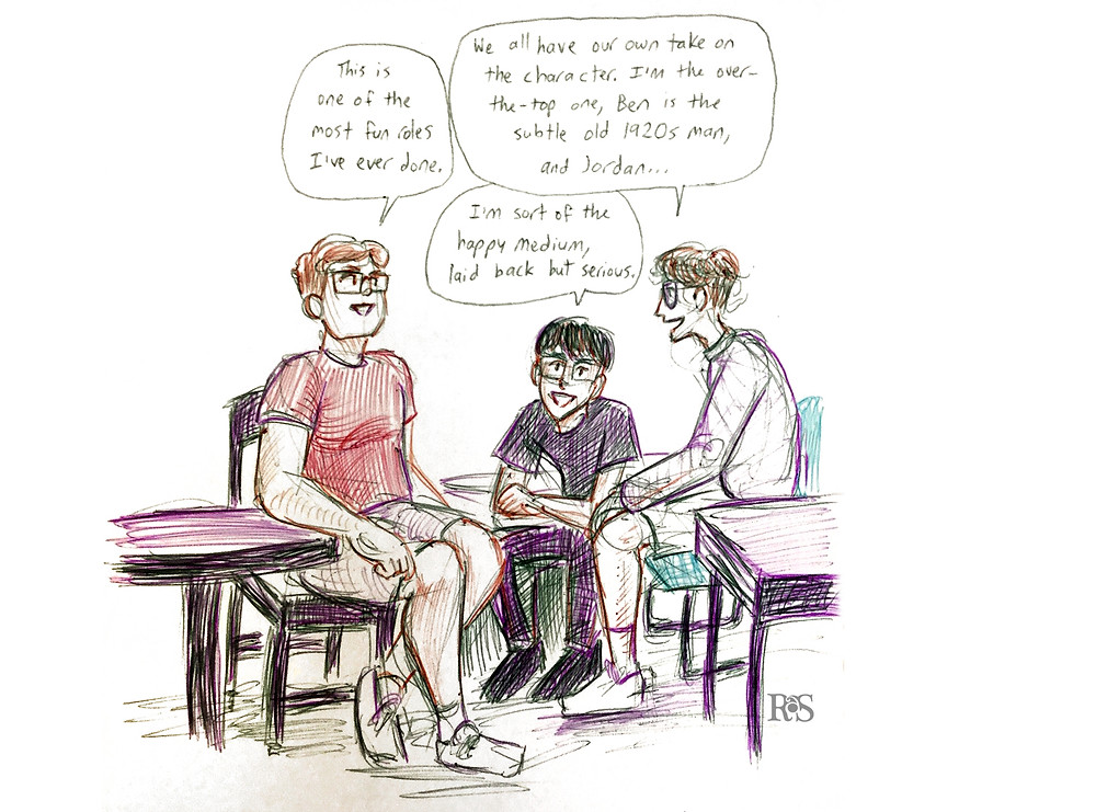 The three boys talk about their take on the character.