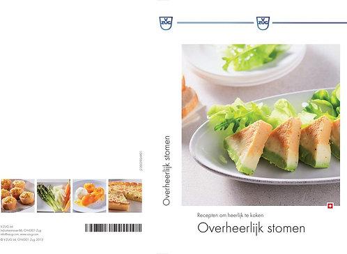 """receptenboek """"overheerlijk stomen"""" Nederlandse versie"""