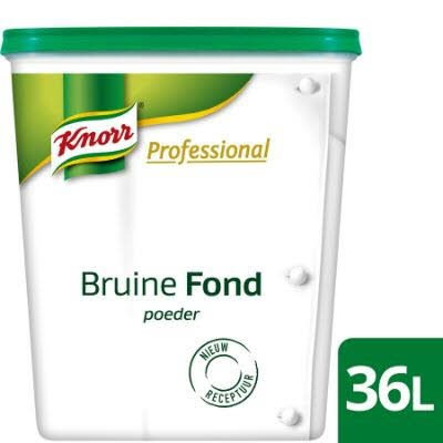 bruine fond (poeder) 100 g
