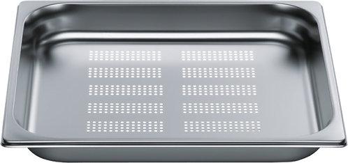 inox schaal 2/3GN (32.5 x 35.5 cm) - 4 cm - met gaatjes