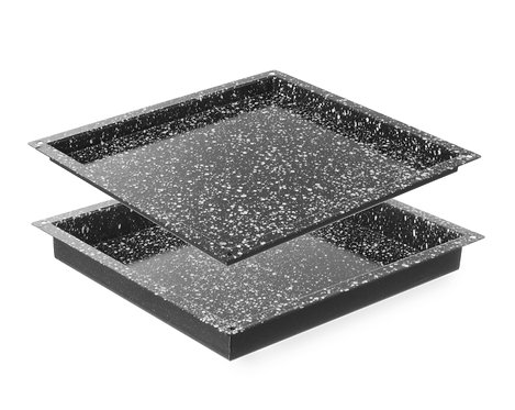 ovenschaal om te bakken 2/3 GN (32.5 x 35.5 cm)