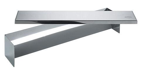 inox terrinevorm driehoekig 5.5 x 5.5 x 30 cm