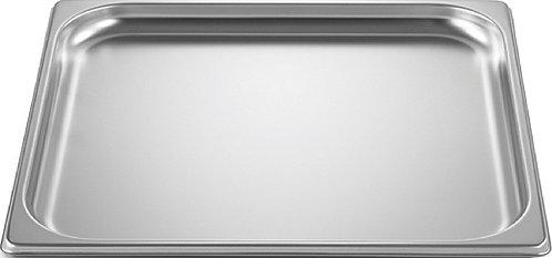 inox schaal 2/3GN (32.5 x 35.5 cm) - 2 cm - zonder gaatjes