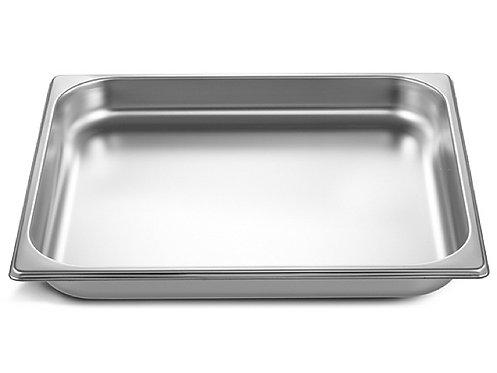 inox schaal 2/3GN (32.5 x 35.5 cm) - 4 cm - zonder gaatjes