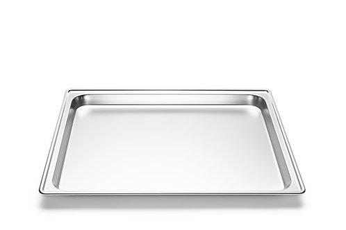inox plaat 43 x 37 cm - zonder gaatjes