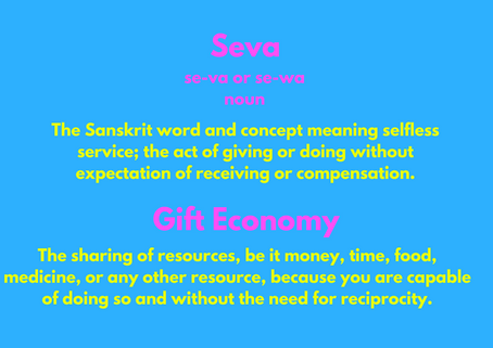 Seva and Gift Economy