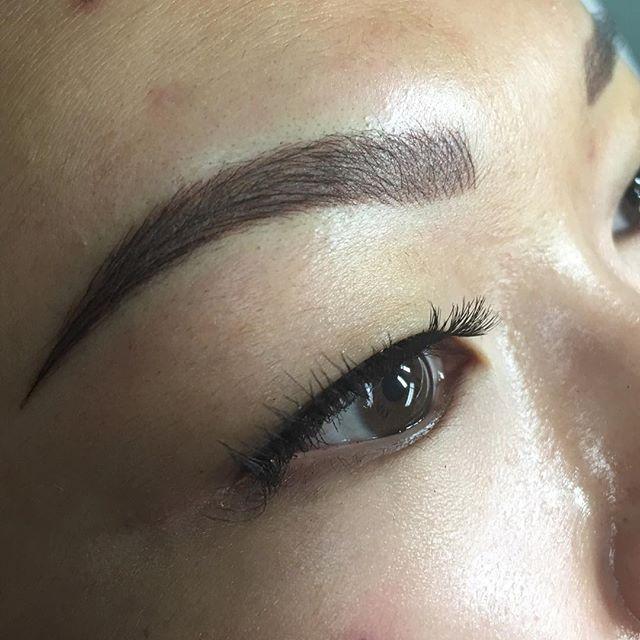 Microblading, combination brows