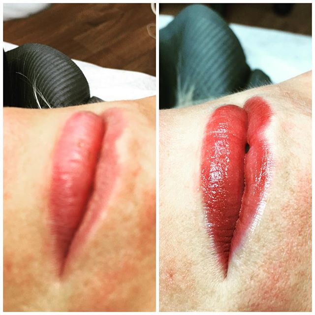 Lips, Permanent Make-Up