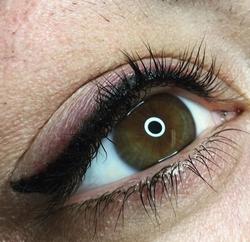 Smoky eyeliner PMU