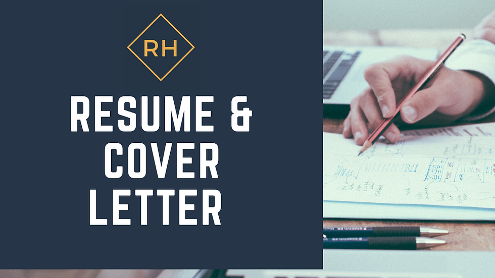 Resume & Cover Letter Bundle