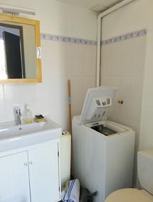 Espace WC et machine à laver