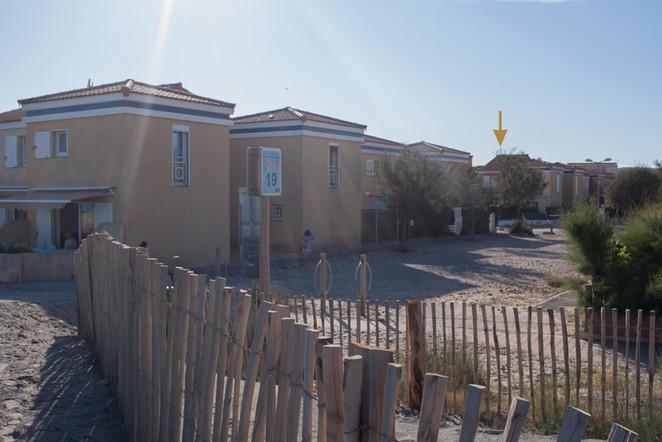 Maison située à 30 m de la plage