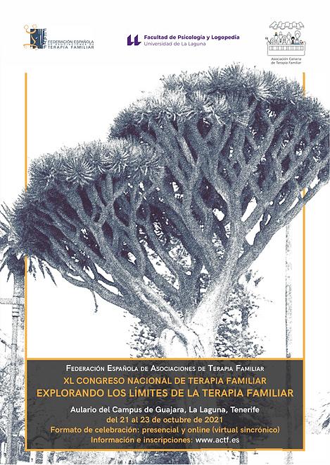 Cartel XL Congreso FEATF 2021 Tenerife U