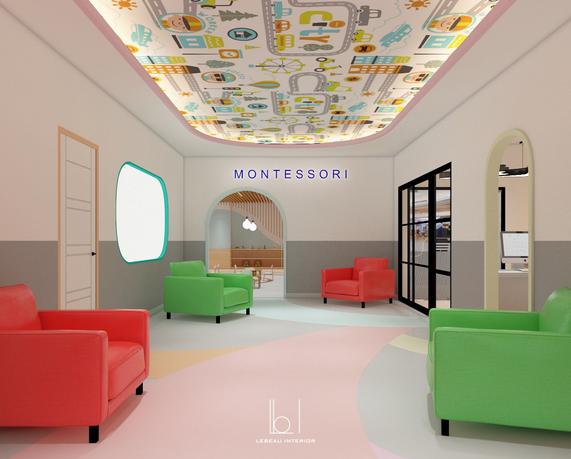 Montessori Waiting Area