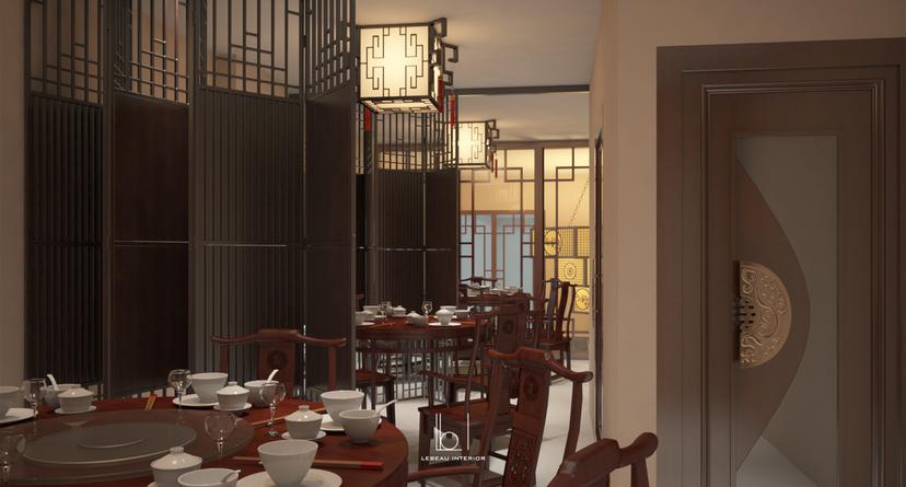 Semi Private Dining Area