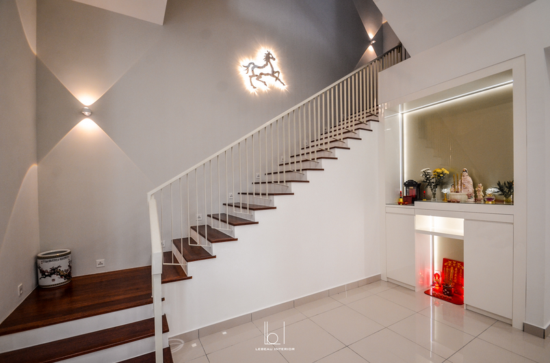 Staircase & Altar Cabinet