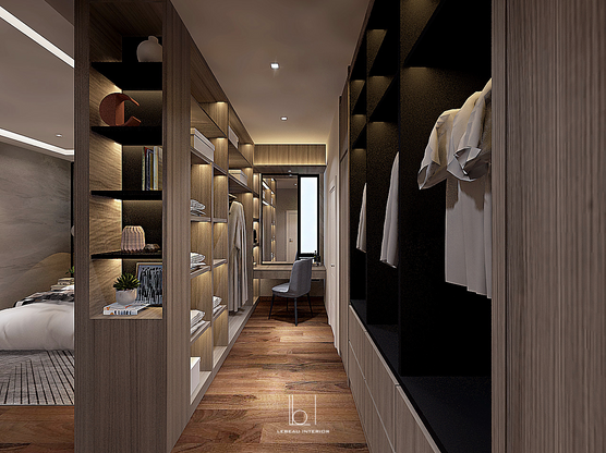 Bedroom 1 Walk-In Wardrobe