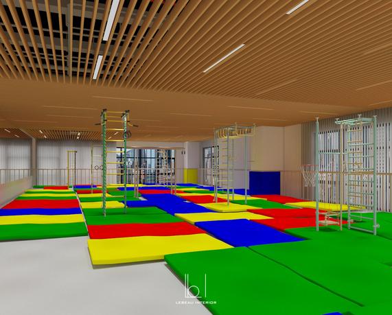 Gymnasium Area