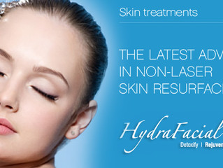 "Dispelling the truth about Hydra-facial also known as ""water microdermabrasion."""