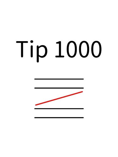 Tip1000